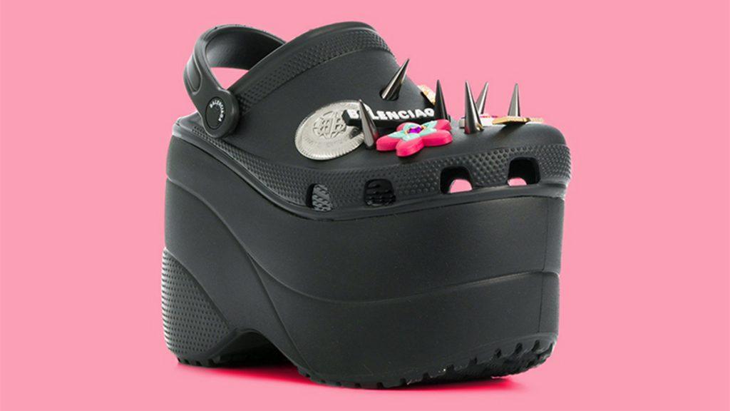 1c0d97ae292 The Latest Ugly Shoe Trend Is Here  Balenciaga Platform Crocs