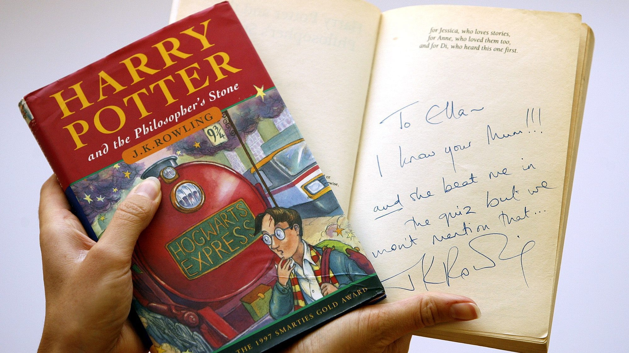 Harry Potter Book First Edition : Your harry potter book could be worth kiss radio