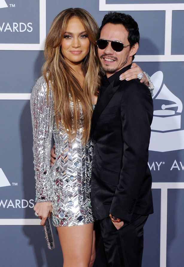 Jennifer Lopez and ex-husband Marc Anthony (photo: Getty)