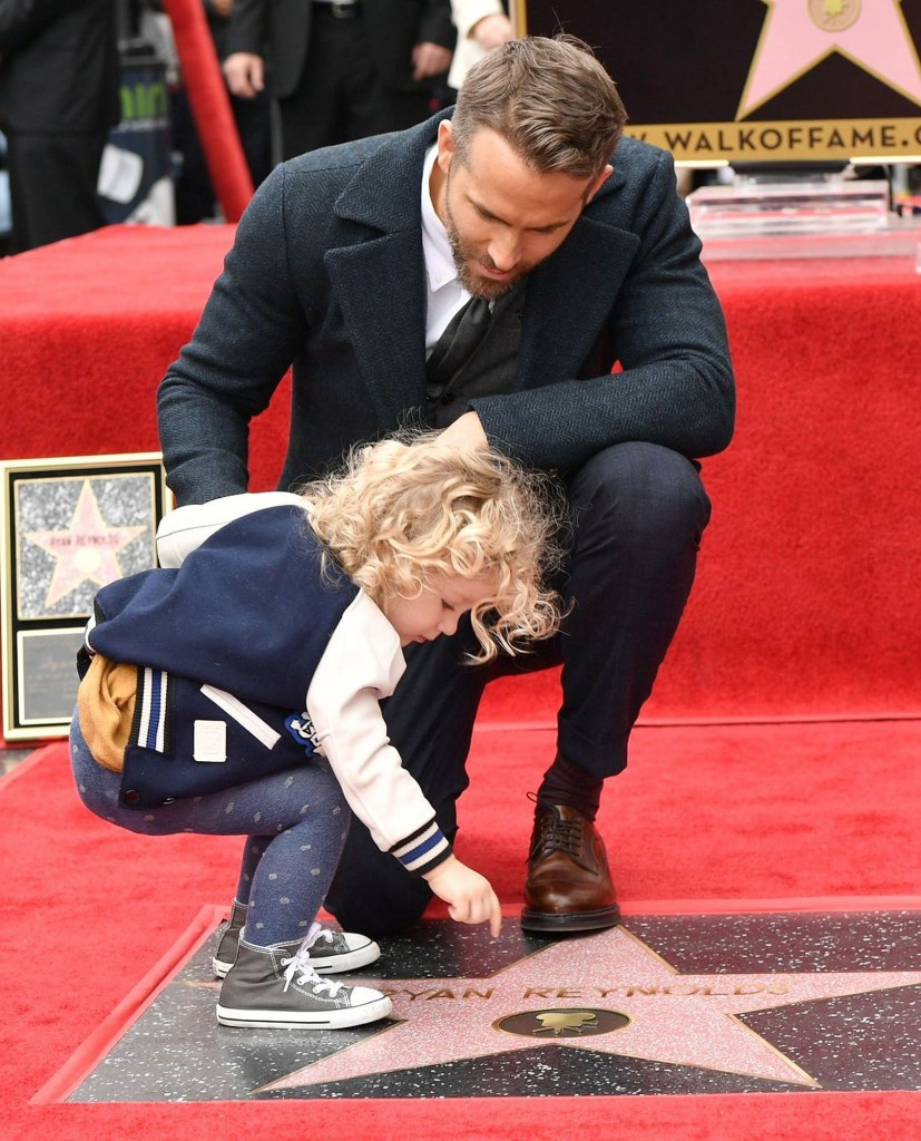 Mandatory Credit: Photo by Rob Latour/Variety/REX/Shutterstock (7567188ce) Ryan Reynolds Ryan Reynolds honored with star on The Hollywood Walk of Fame, Los Angeles, USA - 15 Dec 2016
