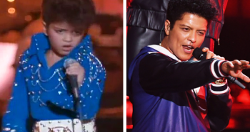 Bruno Mars as Elvis