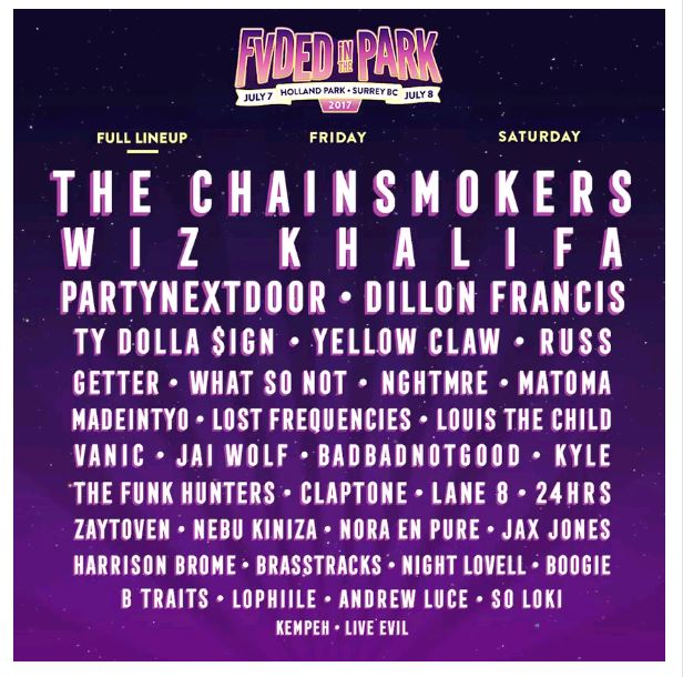 FVDED_FullLineUp