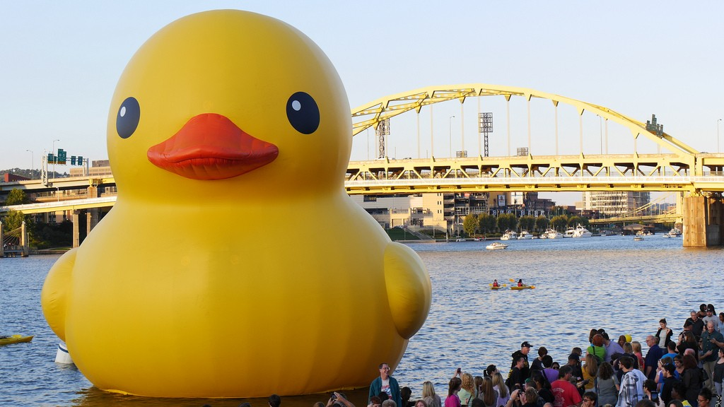 Ontario Will Celebrate Canada 150 With A Rubber Duck