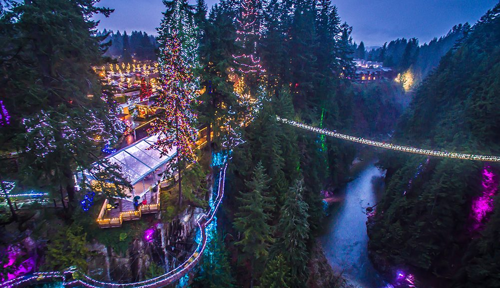 The Worldu0027s Tallest Christmas Tree Opens This Month In North Vancouver