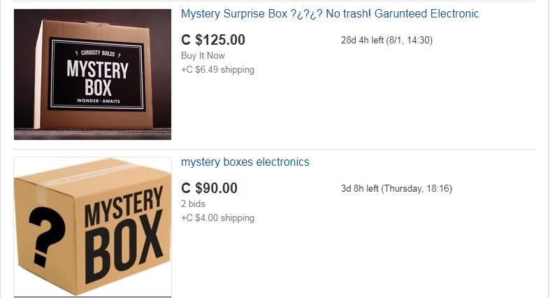 Would You Buy An Ebay Mystery Box Kiss Radio