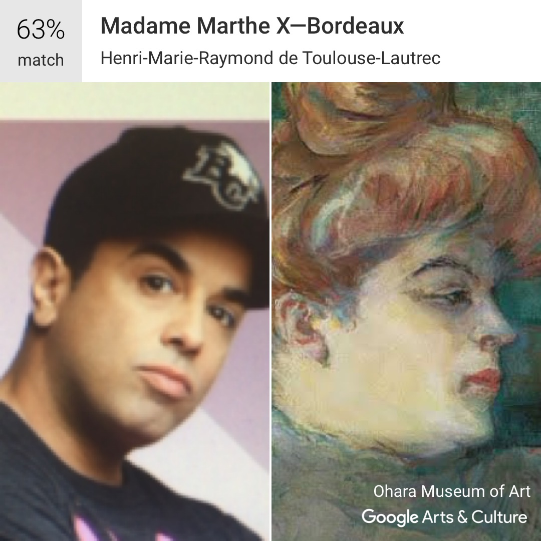 Celebrity matches my face