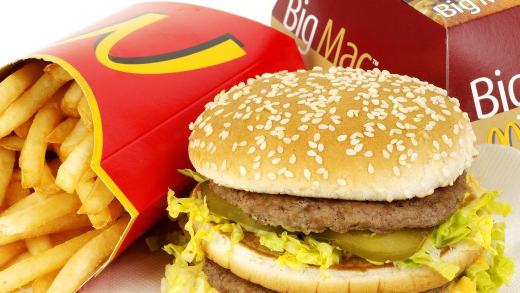 Image result for big mac fries