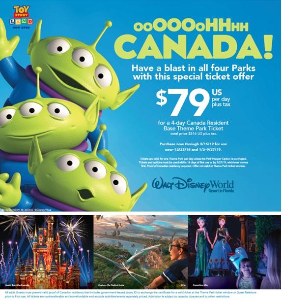 Disney World Canadian Discount